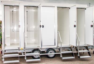 Luxury Shower Trailers